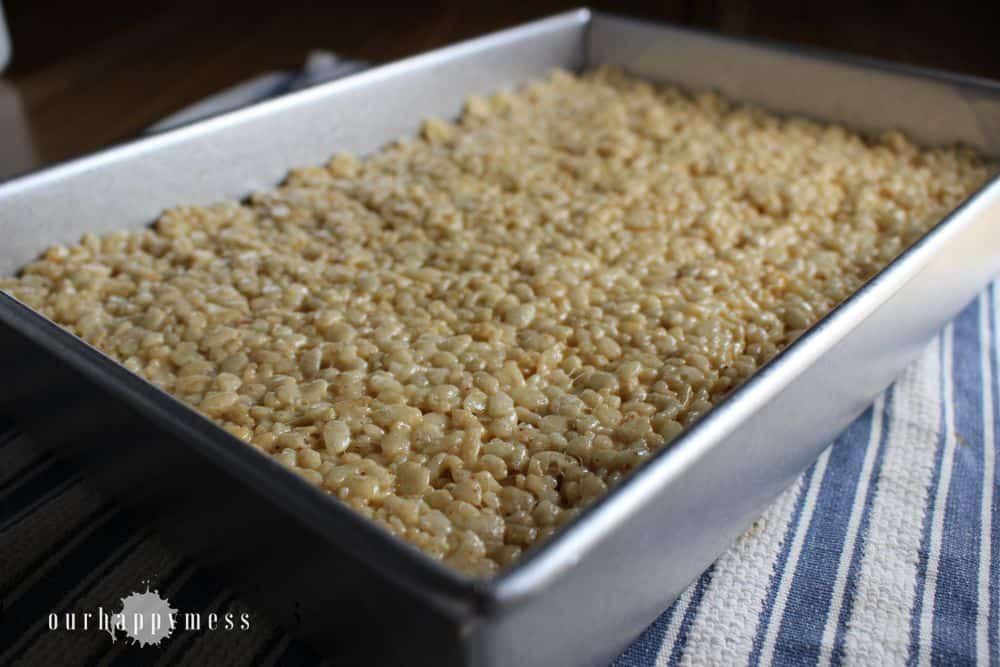 Brown Butter Crispy Rice Treats
