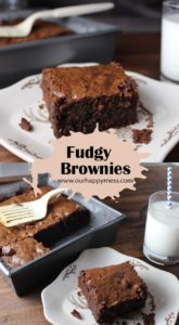 Brownies from scratch