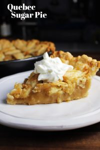 Quebec sugar pie is a traditional French Canadian dessert with a smooth, rich, creamy filling. This version is made with both brown sugar and maple syrup. It's super cheap and easy to make!