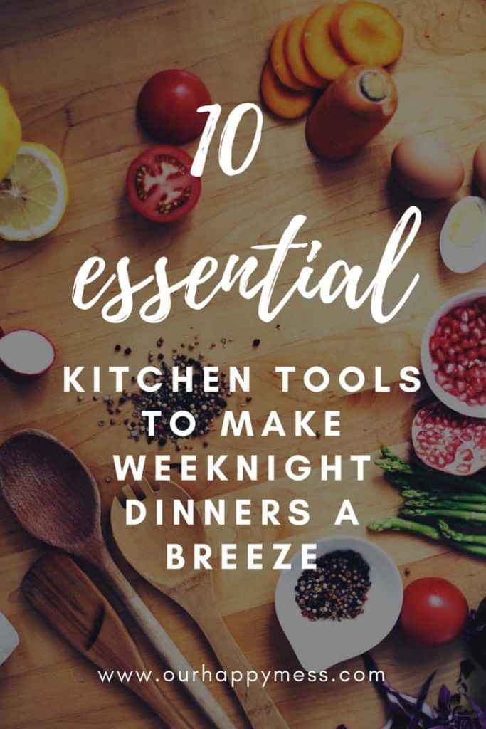 The ultimate kitchen tool and gadget guide for weeknight dinners