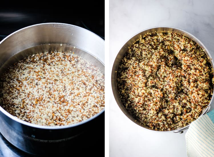 steps for cooking quinoa